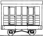 Parkside Dundas DM04A  Freelance 4 Wheel Coach OO-9